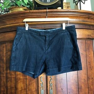 7 for All Mankind Dark Wash Jean Shorts